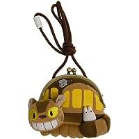 スタジオジブリ となりのトトロ がま口 ネコバスと小トトロ 高さ13cm