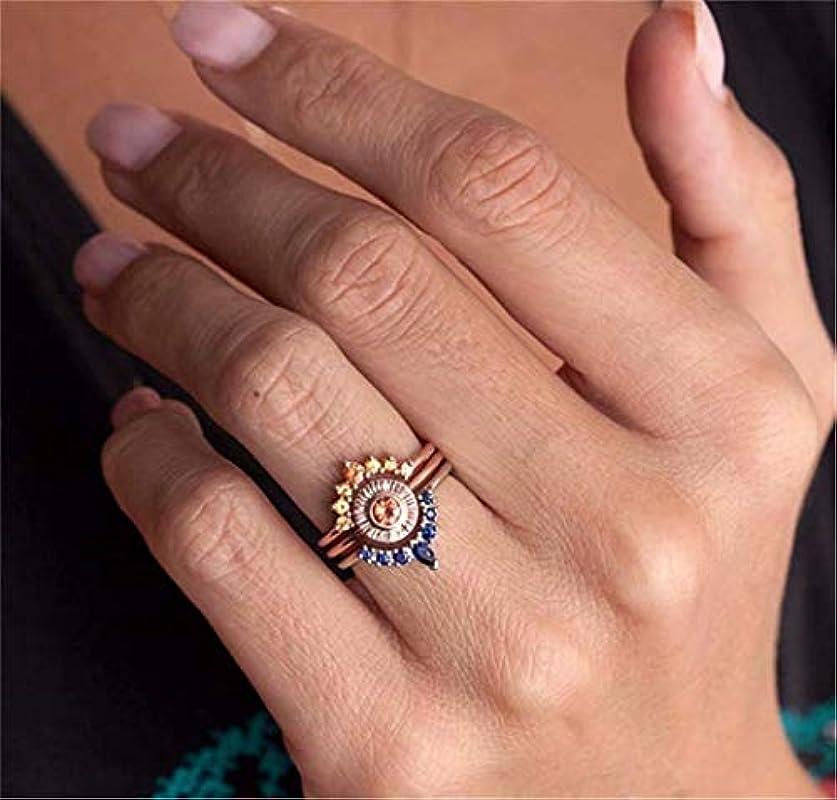 脱臼する推論軍団七里の香 指輪 ペアリング レディース メンズ リング キュービックジルコニア 結婚指輪 婚約指輪 シンプル フラワー 花 セット
