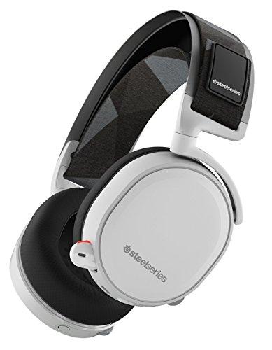 【国内正規品】密閉型 ゲーミングヘッドセット SteelSeries Arctis 7 White 61464