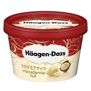 【ハーゲンダッツアイスクリーム】 ミニカップ マカデミアナッツ6個