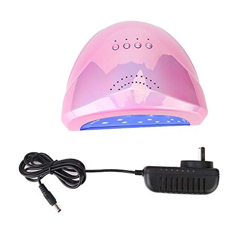 騒々しい詳細に願望ネイルランプ 紫外線 UV+LED 48W ネイルドライヤー 30個LEDライト 自動センサー タイマー付き UV LEDネイルランプ 硬化ネイルアートツール マニキュア (02)