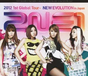 2NE1 2012 1st Global Tour - NEW EVOLUTION in Japan(仮) (Blu-ray Disc)