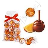 リンツ (Lindt) チョコレート リンドール オレンジ 10個入り