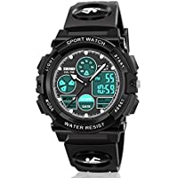 ATIMO Kids Digital Watches, Multi Function Waterproof Sports Digital Wrist Watch with Alarm Stopwatch-Prefect Kids and Teens