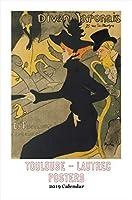 Retrospect Group Toulouse-Lautrec Posters - 2019 Calendar (YC 085) [並行輸入品]