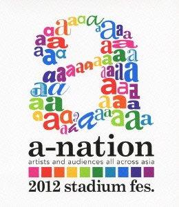 a-nation2012 stadium fes. [Blu-ray]