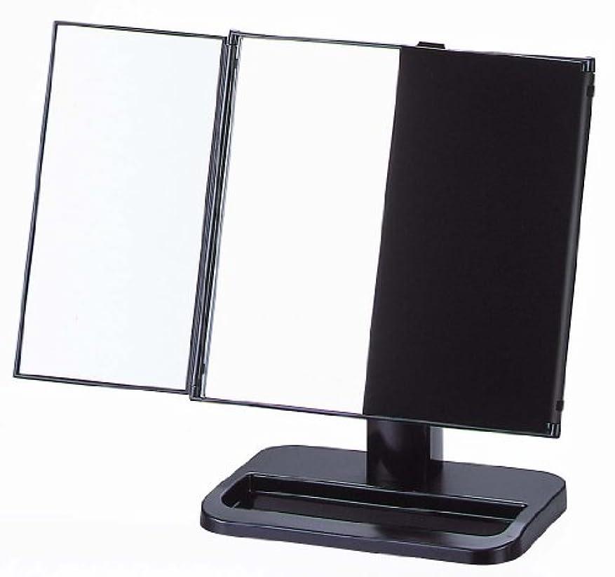 つらい懲戒本気ヤマムラ 三面鏡 ブラック 日本製 S-888