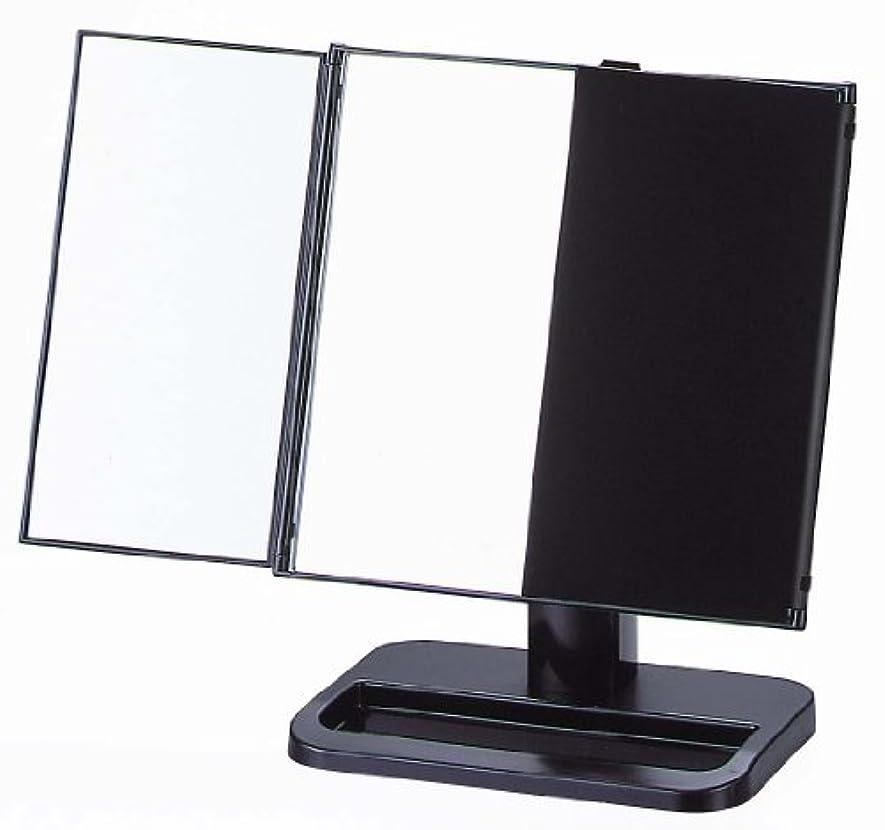 のスコアハウス倫理ヤマムラ 三面鏡 ブラック 日本製 S-888