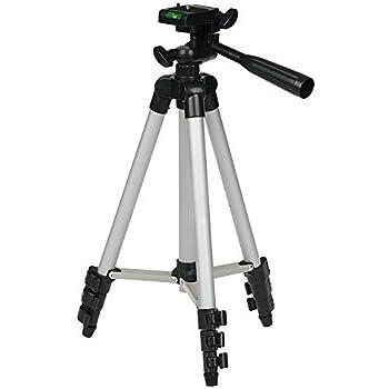 IFLYING 4段三脚 カメラ三脚 アルミ製 小型 3WAY雲台 収納専用バッグ付き 折り畳み可能 撮影三脚