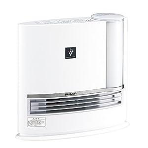 シャープ プラズマクラスター搭載 加湿セラミックファンヒーター ホワイト HX-G120-W