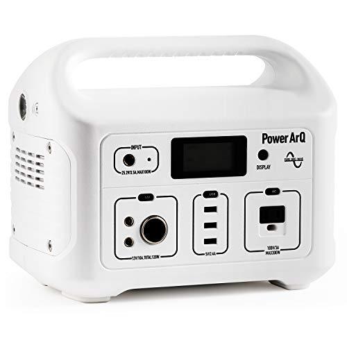 SmartTap ポータブル電源 PowerArQ スノーホワイト (626Wh/174,000mAh/3.6V/正弦波 100V 日本仕様) 正規保証2年 008601C-JPN-FS-WH 008601C-JPN-FS-WH