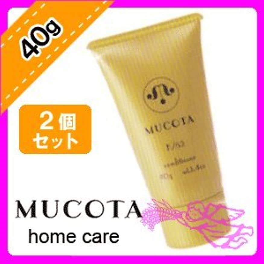 手段熱心な先駆者ムコタ ホームケア コンディショナー K/52 40g × 2個 セット MUCOTA Home Care