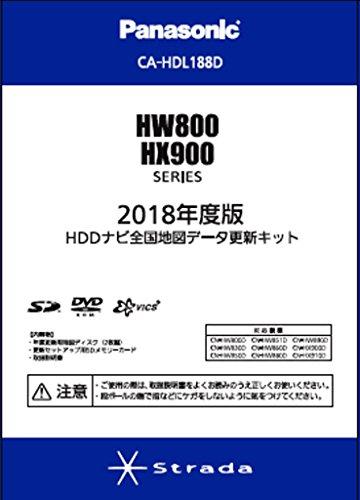 2018年度版 HDDナビ全国地図データ更新キットHW800...