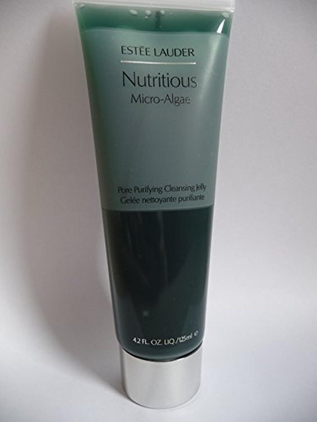 助けて飼い慣らすイブニングエスティローダー Nutritious Micro-Algae Pore Purifying Cleansing Jelly 125ml/4.2oz並行輸入品