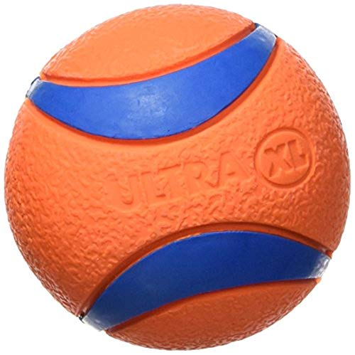 Dog KICK FETCH Durable Canvas Toy Ball Will Not Deflate LARGE 8-inch Chuckit