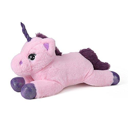 ソフトで素敵 ユニコーン ぬいぐるみ イズ 長さ30cm ピンク 子供の贈り物
