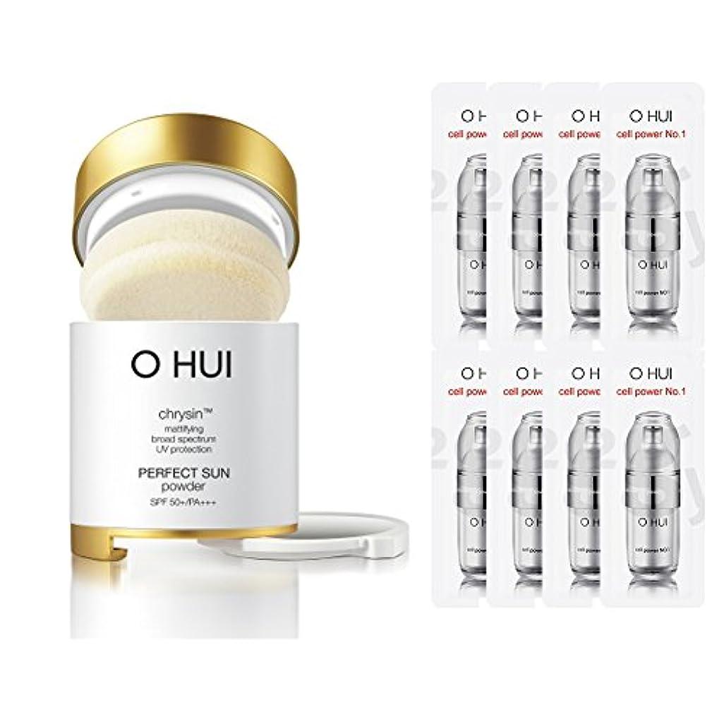 最大の繁雑目の前のOHUI/オフィ2015年 パーフェクトサンパウダー (OHUI Version Perfect Sun Powder SPF50++PA+++ Special Gift set) スポット [海外直送品] (2号ベージュ)