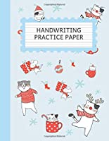 Handwriting Practice Paper: Christmas Notebook, Cute Notebook with Dotted Mid-Lined for Kids,  (Primary, Preschool, School, Kindergarden), 120 pages