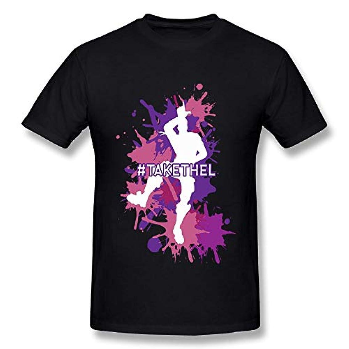 故障ジョージバーナードクリップ蝶メンズ Tシャツ半袖シャツ3D印刷 フォートナイト Fortnite 大人のTシャツ
