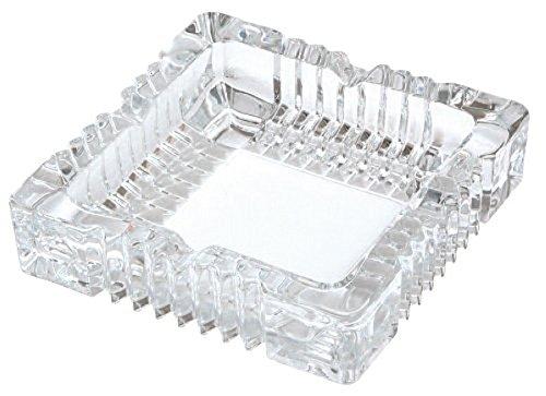 TOYOSASAKI GLASS(東洋佐々木ガラス) 日本製 ガラス製卓上灰皿 P-26414-JAN