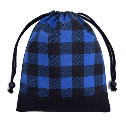 ごきげんランチの巾着(中サイズ)マチ無し給食袋 バッファロー...