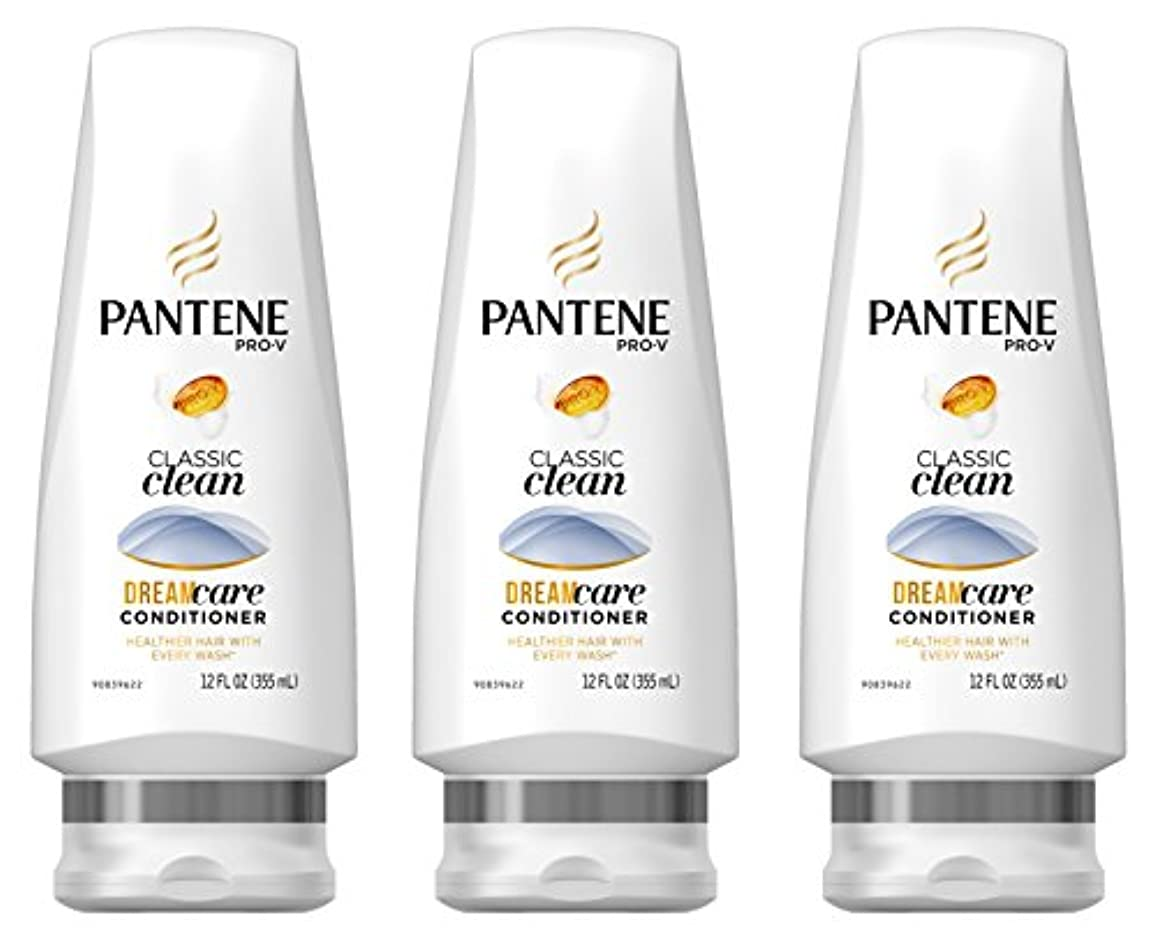 Pantene プロVクラシッククリーンコンディショナー12液量オンス(商品サイズは変更になる場合があります)(3パック)