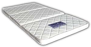 高反発 3つ折り パームマットレス シングル 厚さ6cm (腰痛・二段ベッドに最適)FibreLux 【三つ折り/折りたたみ】