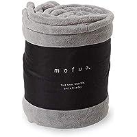 mofua(モフア)毛布 シングル グレー あったか ボリュームタイプ 1年間品質保証 静電気防止加工 プレミアムマイクロファイバー 32030113