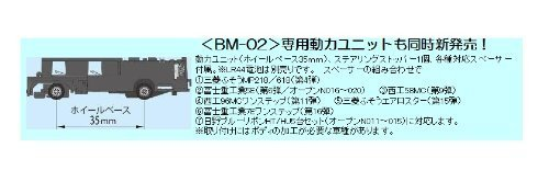 バスコレクション <BM-02> バスコレ専用動力ユニット (ホイールベース35mm)