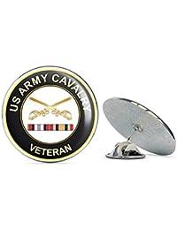退役軍人ピン 米国陸軍騎兵隊 アフガニスタンとイラクメタル 0.75インチ ラペルハット ピン タイタック ピンバック