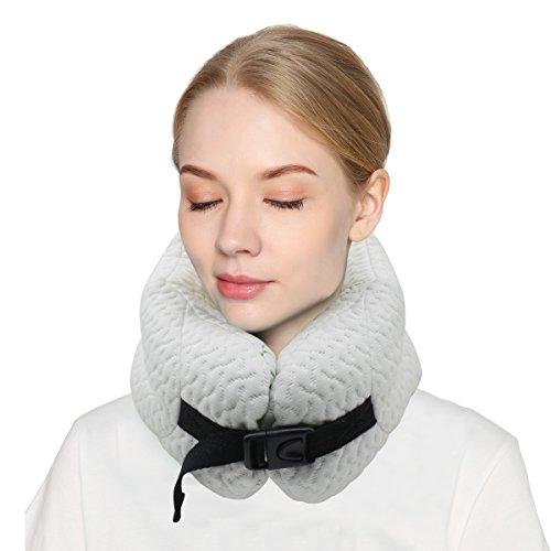 [해외]Smartrip 파이프 목 베개 여행용 휴대 통기성이 좋고 세탁에서 항상 청결하게/Smartrip Pipe neck pillow Travel for traveling Breathability is good Washable so always clean