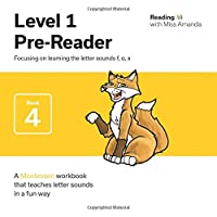 Reading with Miss Amanda Level 1: Pre-Reader: Focusing on learning the letters f, o, x