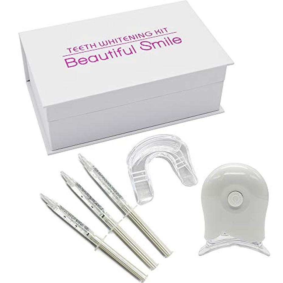 歯のホワイトニングキット ホームホワイトニング シリコン マウスピース ジェル付き