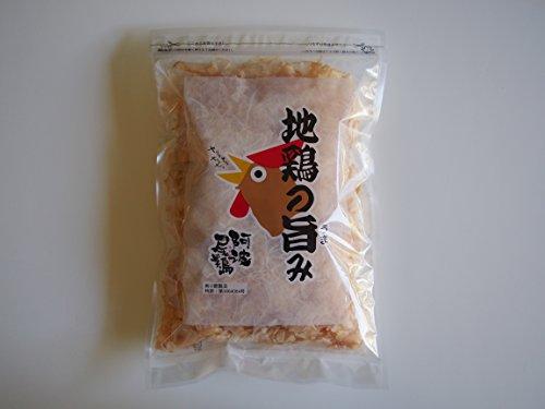 地鶏の旨み(阿波尾鶏削り節)
