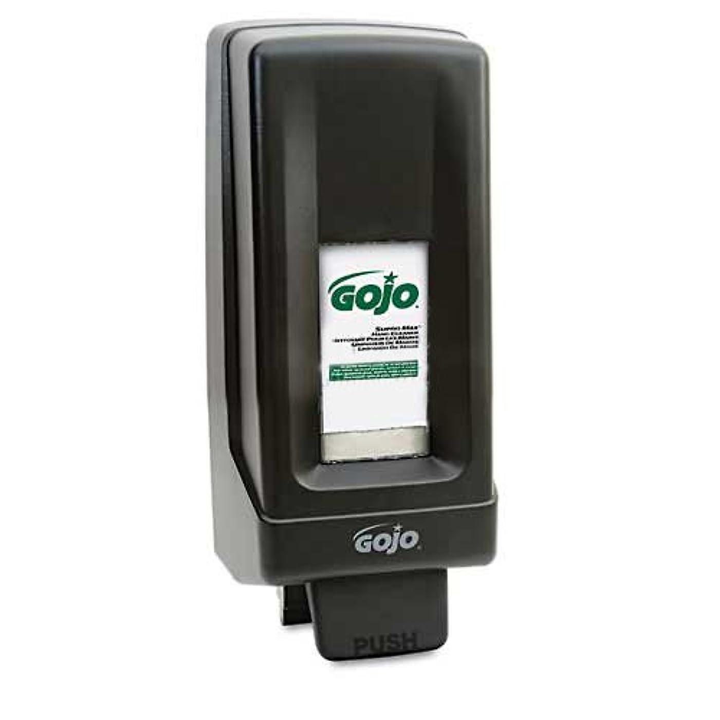 木製同時直接GOJO PRO 5000ハンドソープディスペンサー、5000 ml、ブラック
