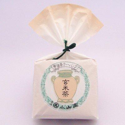 丸久小山園・玄米茶・ティーバッグ 3g×10袋
