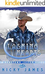 Clashing Hearts: An enemies to lovers, gay romance novel (A Hometown Jasper Novel) (English Edition)