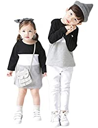 662567be2e6 (JUTAOPIN)【親子 ペアルック】 親子 ペア tシャツ & ショートパンツ レディース スカート