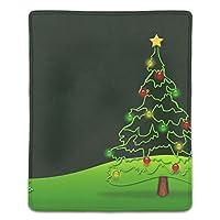 デザイン マウスパッド 滑り止め クリスマスカードのデザイン