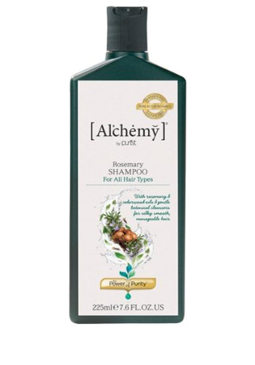 見出しシリンダーニコチン【Al'chemy(alchemy)】アルケミー ローズマリーシャンプー(Rosemary Shampoo)(ノーマル髪用)225ml