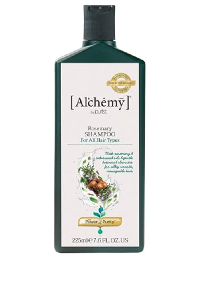 紛争同様の十年【Al'chemy(alchemy)】アルケミー ローズマリーシャンプー(Rosemary Shampoo)(ノーマル髪用)225ml