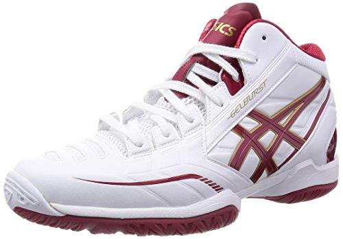 [アシックス] バスケットシューズ GELBURST RS 3 TBF319 0122ホワイト/ガーディナルレッド 26.0