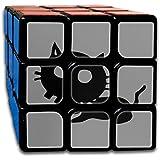 猫 動物 髑髏 面白い スピードキューブ 3x3x3 立体パズル ポップ防止 回転スムーズ 競技用 55x55x55mm 知育玩具 脳トレ プレゼント カスタムデザイン