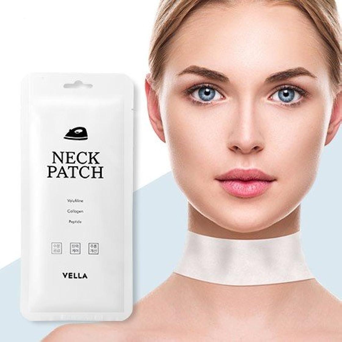 行き当たりばったりまだ透明にVella Neck Patch 5Pcs/Neck Wrinkle Care/Korea Cosmetics