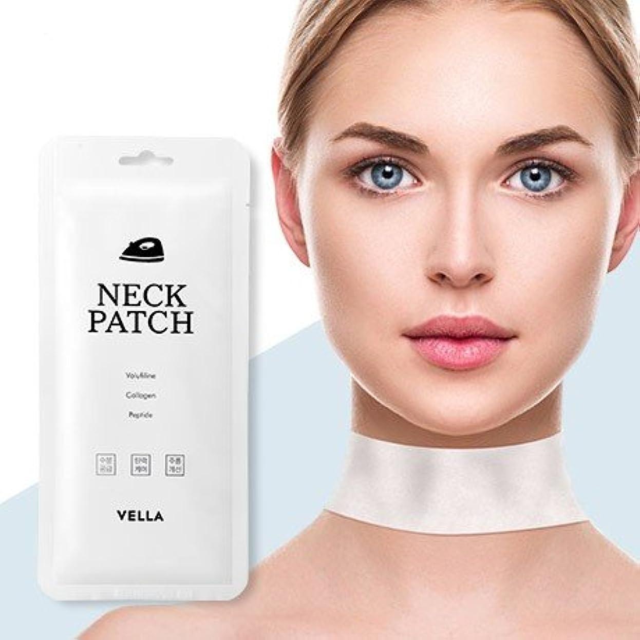 くそーゴミ哲学者Vella Neck Patch 5Pcs/Neck Wrinkle Care/Korea Cosmetics