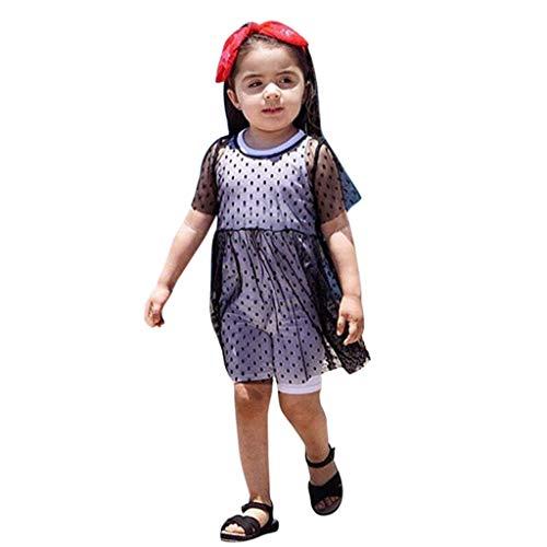 699f02f4aa8a1 キッズ ドレス ガールズ Yochyan 子供 女の子 可愛い キュート ファッション 子供服 プリンセスドレス ビーチドレス 半袖