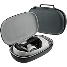 Esimen All-In-One Carrying Case for Oculus Quest 2 VR Gaming Headsets and Controllers Accessories, Hard Protective Travel Bag with Shock-Dust-Water Proof