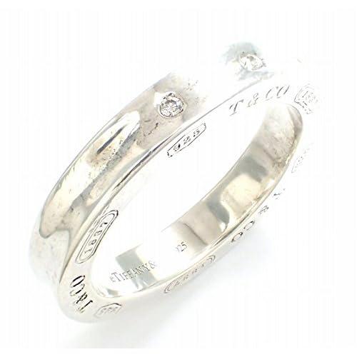 [ティファニー] TIFFANY&Co. 1837 リング 指輪 3Pダイヤ シルバー SV925 #10 [中古]