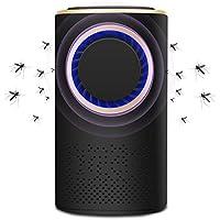 Pexfix UV光源吸引式捕虫器 蚊取り器 虫除け 殺虫ライト 虫退治 害虫駆除 蚊とり USB給電式  殺虫器 省エネ 環境に優しい オフィス ブラック 赤ちゃん用