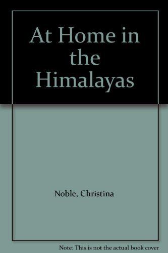 Download At Home in the Himalayas 0006374999